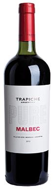 Trapiche, Uco Valley, Pure Malbec, Mendoza, Argentina, 2015