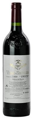 Vega Sicilia, Unico, Ribera del Duero, 1999