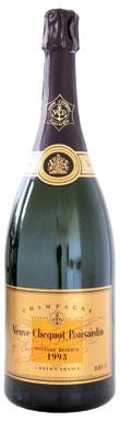 Veuve Clicquot, magnum, Reserve, Champagne, France, 1993