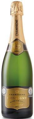 Veuve Monsigny, Blanc de Blancs, Champagne, France, 2011