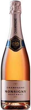 Veuve Monsigny, Rosé Brut, Champagne, France