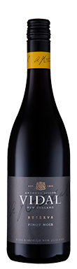 Vidal, Reserve Pinot Noir, Marlborough, New Zealand, 2015