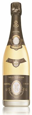 Louis Roederer, Cristal Vinothèque, Champagne, France, 1999
