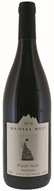 Waipara West, Pinot Noir, Waipara Valley, Canterbury, 2016