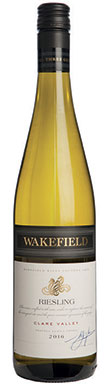 Wakefield Estate, Clare Valley, Riesling, 2016