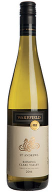 Wakefield Estate, Clare Valley, St Andrews Riesling, 2016
