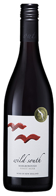 Wild South, Pinot Noir, Marlborough, New Zealand, 2015