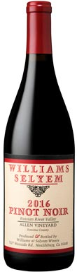 Williams Selyem, Allen Vineyard Pinot Noir, Sonoma County