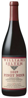 Williams Selyem, Mendocino County, Anderson Valley,
